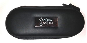 Aqua Smoke Zipper Case
